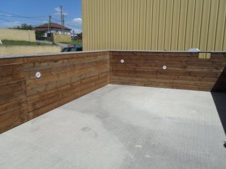 Montage piscine bois hors sol